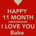 11 Months Anniversary Messages For Him Facebook