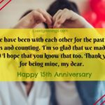 15th Wedding Anniversary Quotes Tumblr