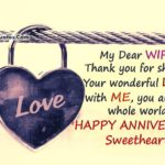 1st Anniversary Quotes For Wife Facebook