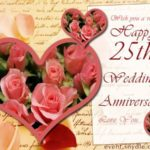 25th Anniversary Sayings Facebook