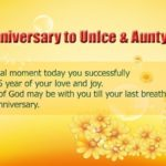 25th Anniversary Wishes For Uncle And Aunty Twitter