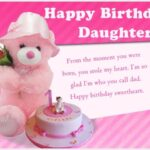 3rd Birthday Wishes For Daughter Twitter