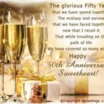 50th Wedding Anniversary Greetings Pinterest