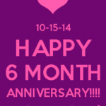 6 Months Anniversary Quotes For Her Tumblr