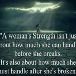 A Woman With Strength Quote Pinterest