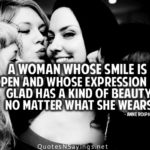 A Woman's Smile Quotes Tumblr