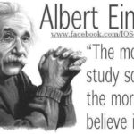 Albert Einstein Quotes Religion And Science Facebook
