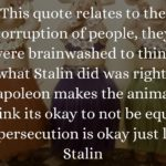 Animal Farm Corruption Quotes