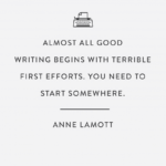 Anne Lamott Bird By Bird Quotes Tumblr