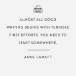 Anne Lamott Bird By Bird Quotes Tumblr