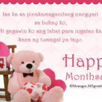 Anniversary Message Tagalog