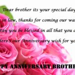 Anniversary Wishes For Sister In Law Facebook