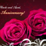 Anniversary Wishes For Uncle Aunty Pinterest