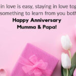 Anniversary Wishes To Mom Dad