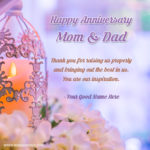 Anniversary Wishes To Mom N Dad