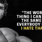 Arnold Schwarzenegger Strength Quote Facebook
