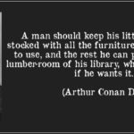 Arthur Conan Doyle Quotes Tumblr