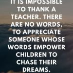 Awesome Quotes For Teachers