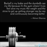 Barbell Quotes Facebook