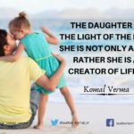 Beautiful Quotes On Daughter Twitter