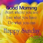 Beautiful Sunday Morning Quotes Tumblr