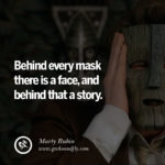 Behind The Mask Quotes