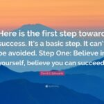 Believe In Yourself And You Will Succeed Pinterest