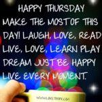 Best Thursday Morning Quotes Twitter