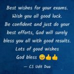 Best Wishes For Exam Quotes Facebook