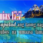 Bible Verse Encouragement Tagalog