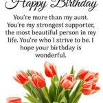 Birthday Message For Aunt Facebook