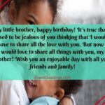 Birthday Message For Brother From Sister Facebook