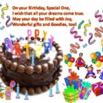 Birthday Message For Kids Pinterest