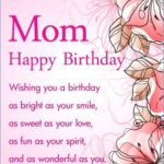 Birthday Message For Mother Pinterest