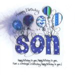 Birthday Message For Son Pinterest