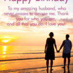 Birthday Message To My Husband