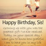 Birthday Message To My Sister Pinterest