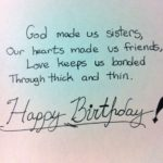 Birthday Poem For Sister Pinterest