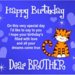 Birthday Quotes For Big Brother Pinterest
