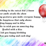 Birthday Quotes For Children