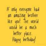 Birthday Quotes For Elder Brother Facebook