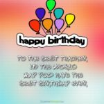 Birthday Wishes For Best Teacher Tumblr