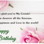 Birthday Wishes For Cousin Sister Pinterest