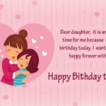 Birthday Wishes For Little Daughter