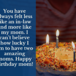 Birthday Wishes For Mother In Law Pinterest