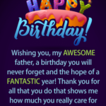 Birthday Wishes To My Dad Facebook