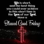 Blessed Good Friday Message Twitter