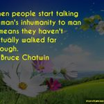 Bruce Chatwin Quotes Facebook