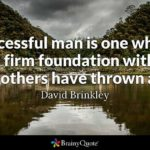 Building A Strong Foundation For Success Quotes Twitter