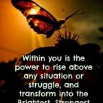 Butterfly Strength Quotes Facebook